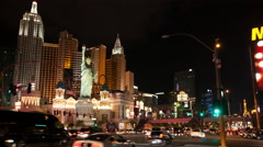 New York New York LV Stock Footage