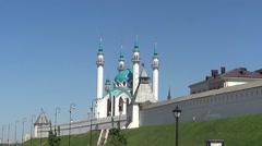 Qol Sharif mosque, Kazan - stock footage