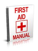First Aid Manual - stock illustration