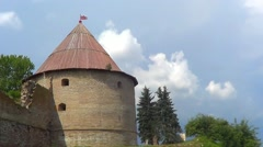 Shlisselburg fortress, Russia Stock Footage