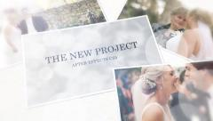 Wedding Slideshow Movie Trailer and Titles Displays Photo Gallery - stock after effects