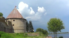 Shlisselburg fortress Stock Footage