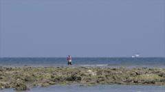 Local Fisherman in Nai Yang, Thailand 2 Stock Footage