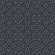 Seamless pattern in black grey and white, vector - stock illustration