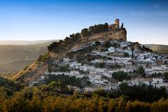 Montefrio at a sunny day, Province of Granada, Spain - stock photo