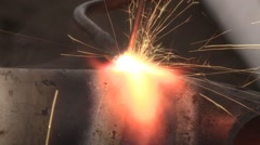 Gas Welding - stock footage