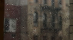 Greenwich Village Rainy Day - stock footage