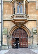Oxford University, Lincoln College, entrance gate Kuvituskuvat