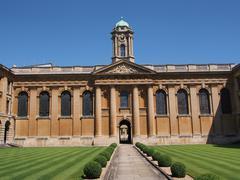 Oxford University, Queen's College, England, 2013 Kuvituskuvat