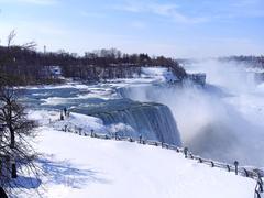Niagara Falls in winter Stock Photos