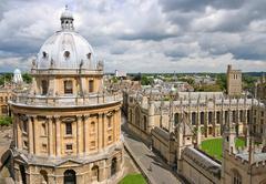 Oxford University skyline Kuvituskuvat