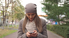 Addicted to Smartphone - stock footage
