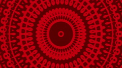 4k Red Hypnosis Wave Abstract Seamless loop background. Stock Footage