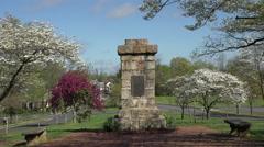Fredericksburg Virginia Religious Liberty Monument Hd 002 Stock Footage