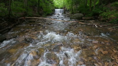 Indian Run Waterfall Loop - stock footage