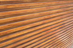 Design of wood wall texture background, wooden stick varnish shiny for decora Stock Photos