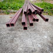 steel rod bar for building construction site - stock photo