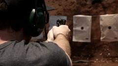 Shooting range 3 Stock Footage