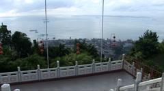 View of Sepilok, Borneo Stock Footage