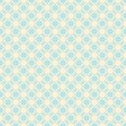 creative retro flora design pattern background vector - stock illustration