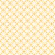 Retro yellow flora pattern background for gift wrapping  vector Stock Illustration
