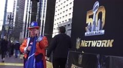 Super Bowl 50 , free event Stock Footage