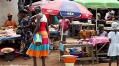 market place - stock footage