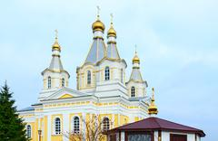 Cathedral of St. Alexander Nevsky, Kobrin, Belarus Stock Photos