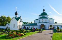 Holy Transfiguration Monastery, Murom, Russia - stock photo