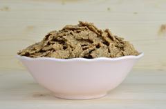 Bowl of Crunchy Cereals Stock Photos