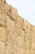 Straw Bales Vertical Stock Photos