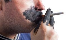 The harm of smoking. Quit Smoking Now - stock photo