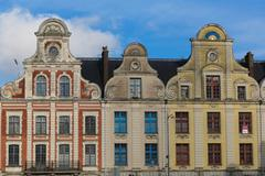Grand Place Arras Stock Photos