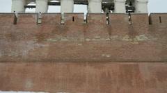 The belfry of Novgorod Kremlin, Veliky Novgorod, Russia - stock footage