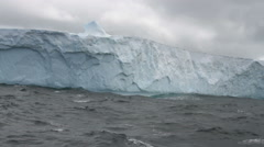 Large Tabular Iceberg, Antarctica Stock Footage