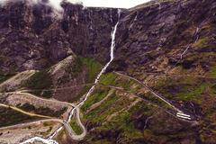 Trollstigen - stock photo