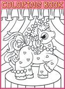 Little Beautiful Pony - stock illustration