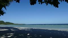 Empty Anda beach Stock Footage