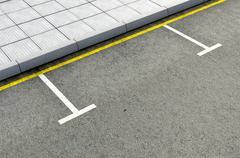 Parking Area Stock Illustration
