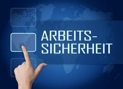 Arbeitssicherheit Stock Illustration