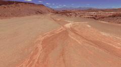 Atacama, Chile - August 22, 2015: Montains In Atacama Landscape Stock Footage