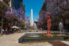 The Obelisk (El Obelisco) Stock Photos