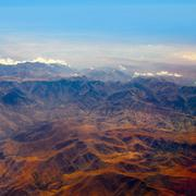 Stock Photo of Aerial view of Morocco Atlas Africa