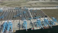 RWG Terminal maasvlakte II Rotterdam holland. Stock Footage