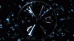 Sphere Energy Vent Stock Footage