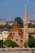 The Capuchin Church (Kapucinus Templom), Buda side of the Danube, Budapest, Stock Photos