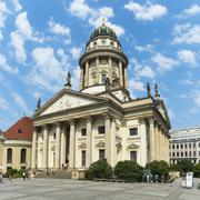 French Cathedral, Gendarmenmarkt Square, Berlin, Brandenburg, Germany, Europe Stock Photos