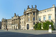 Humboldt University, Alte Bibliothek (former Royal Library), Belbelplatz, - stock photo