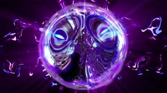 Sphere Energy Beat Stock Footage