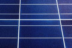 Texture of a solar panel closeup Stock Photos